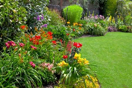 planting a spring garden